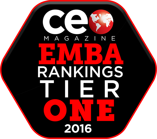 CEO Magazine Global EMBA Rankings Tier 1 2016