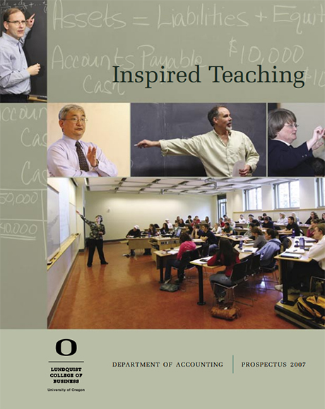 Cover of the 2007 Accounting Prospectus