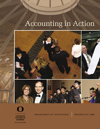 Cover of the 2008 Accounting Prospectus