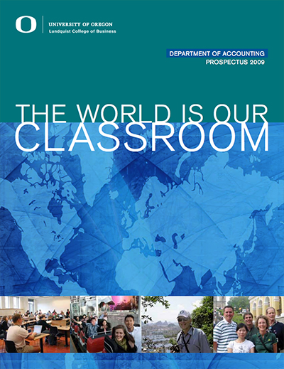 Cover of the 2009 Accounting Prospectus