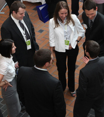 Accounting recruiting event