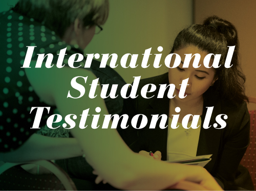 Illustration image for clicking to download PDF to read testimonials from international students about career plan