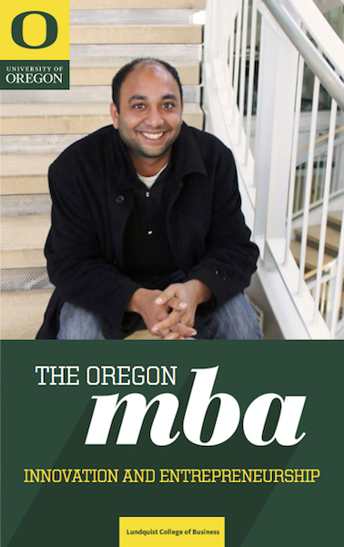 Cover of the Lundquist Center for Entrepreneurship Brochure