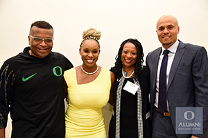 Ericka Warren (second left) with Wilson Smith, Mona Lisa Pinkney, and Andrew Colas.