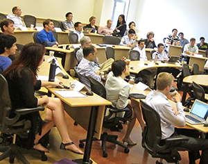 Attendees at the 2013 Lundquist College Finance Conference