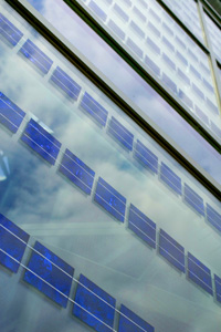 Solar Architectural Glass at the Lillis Business Complex