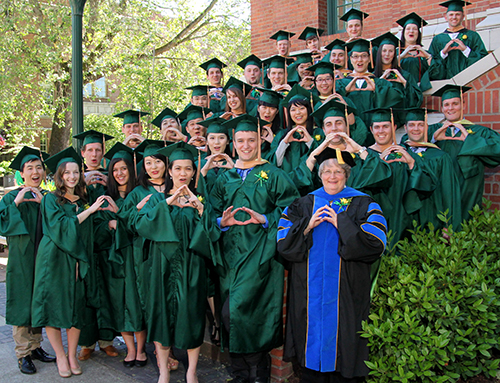 Master of Accounting program commencement