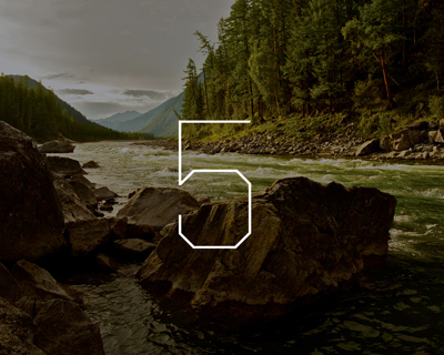Illustration photo of an Oregon river with the number 5 overlaid