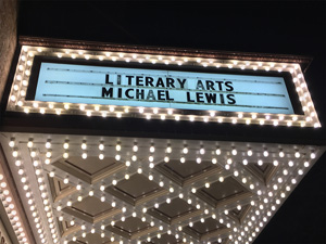 Literary Arts Conversation with Michael Lewis event