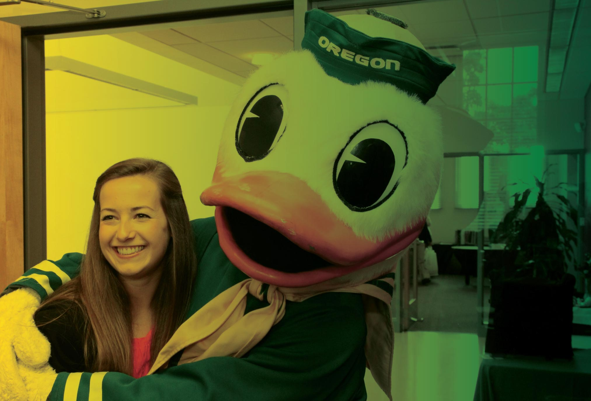 An Oregon MBA student meets the Duck