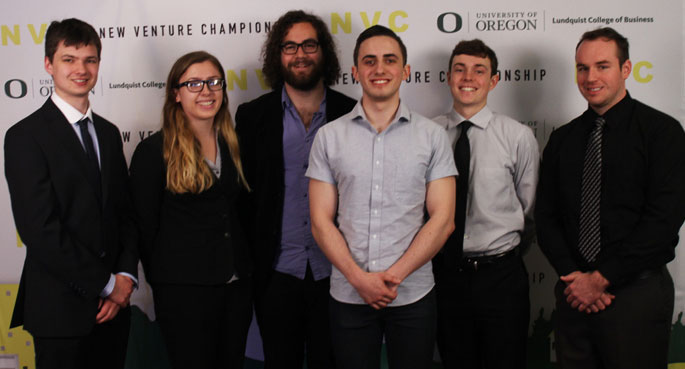 Undergraduate team at the New Venture Championship