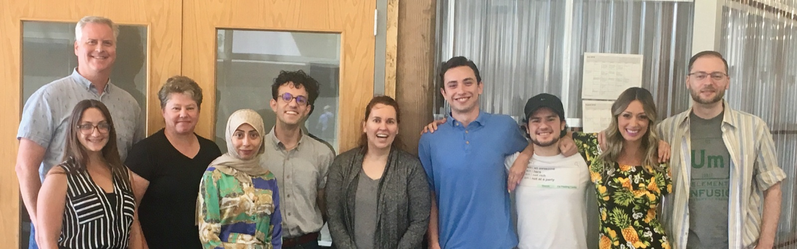 Group photo of UO's first Lean Launchpad cohort