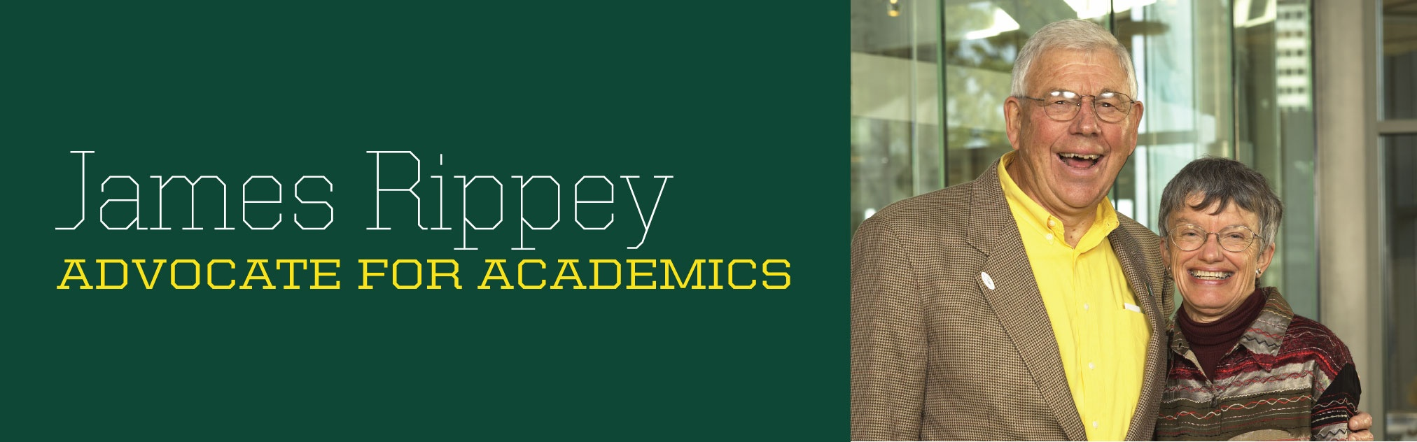 James Rippey, 1931-2016