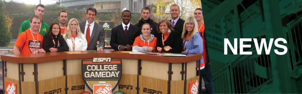 Behind the Scenes on GameDay