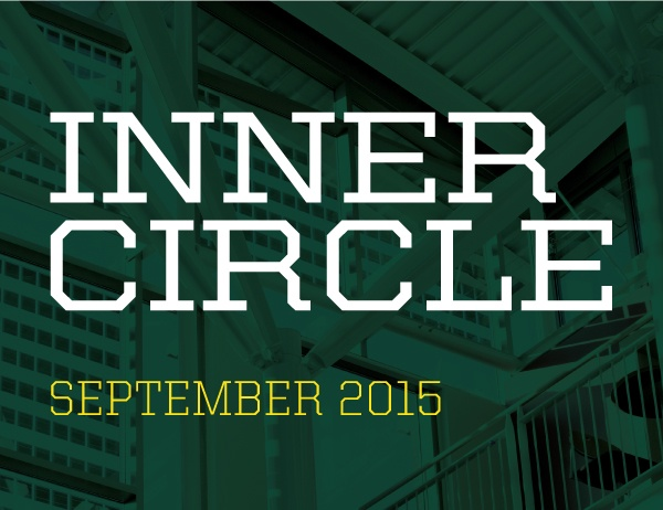 Illustration thumbnail graphic with words Inner Circle September 2015