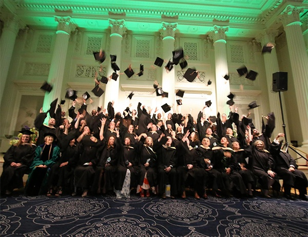The Innovators: Executive MBA Class of 2018 Graduates
