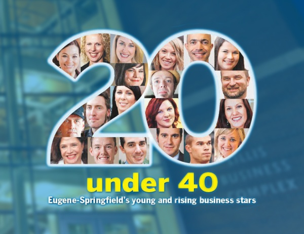 Two Alums Win 20 Under 40