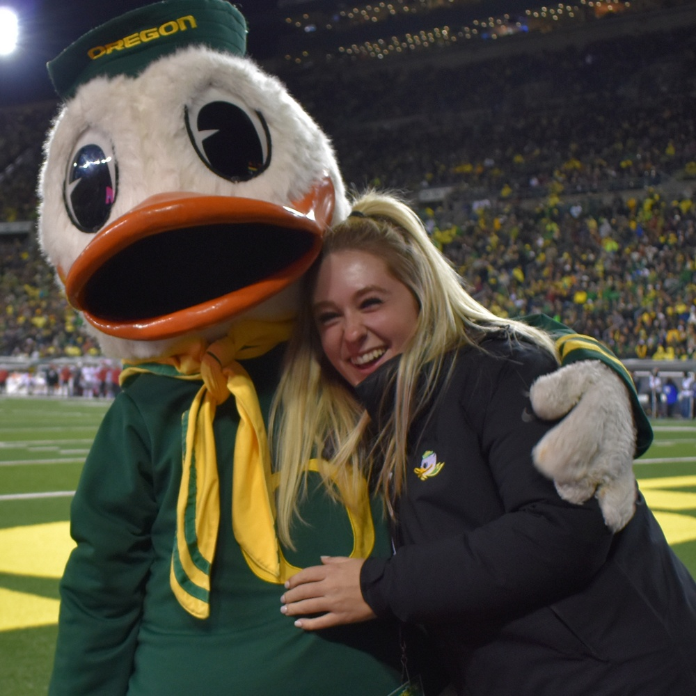 Maggie Bidasolo and the Duck
