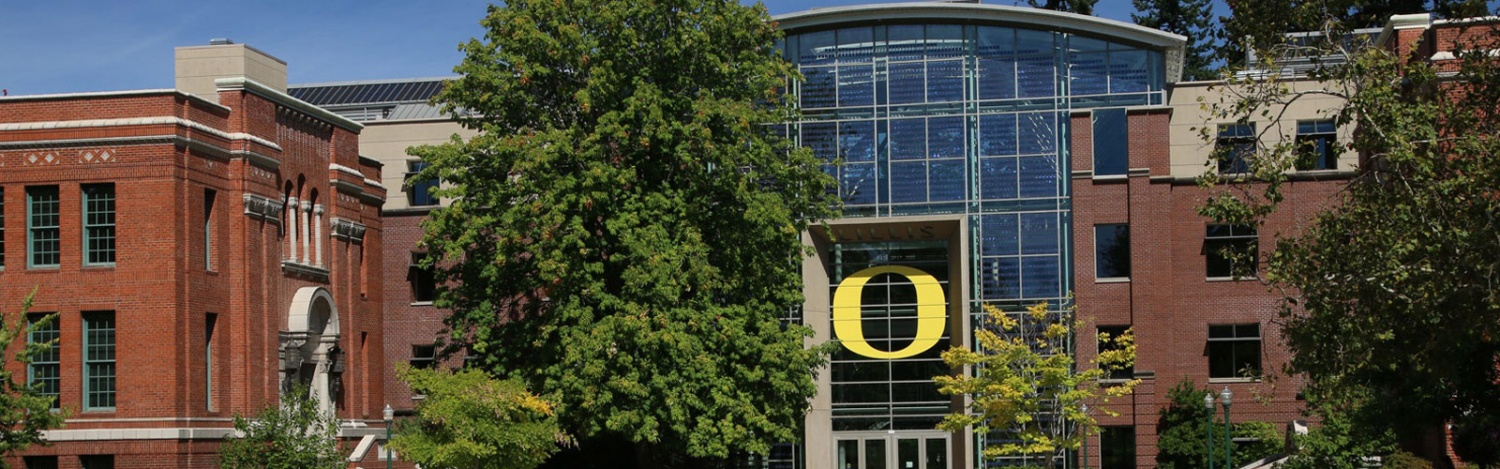 The Lillis Business Complex on the UO campus is home to the Warsaw Sports Marketing Center.