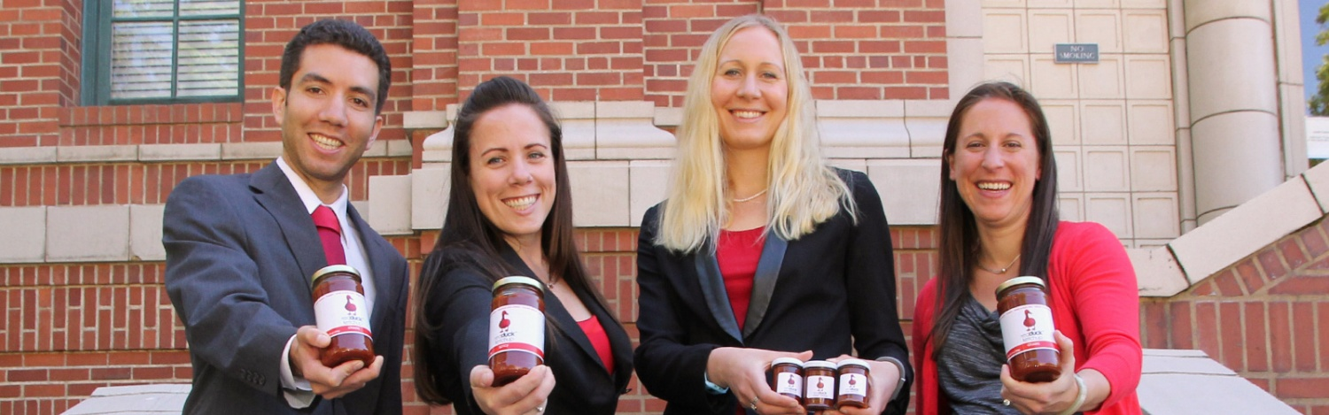 Red Duck Ketchup founders show off their product