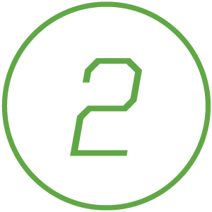 Icon of number 2
