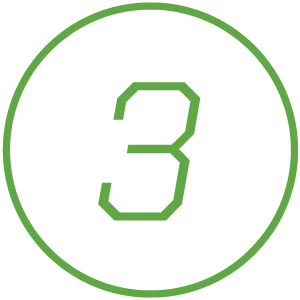 Icon of number 3