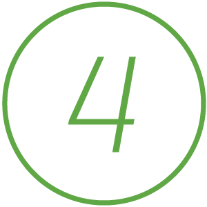 Icon of number 4