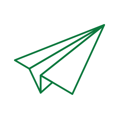 Icon of a paper airplane