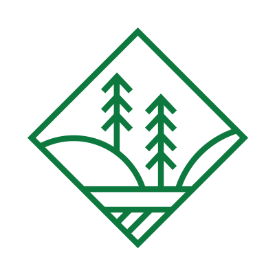 Icon of a forest