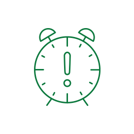Icon of a clock