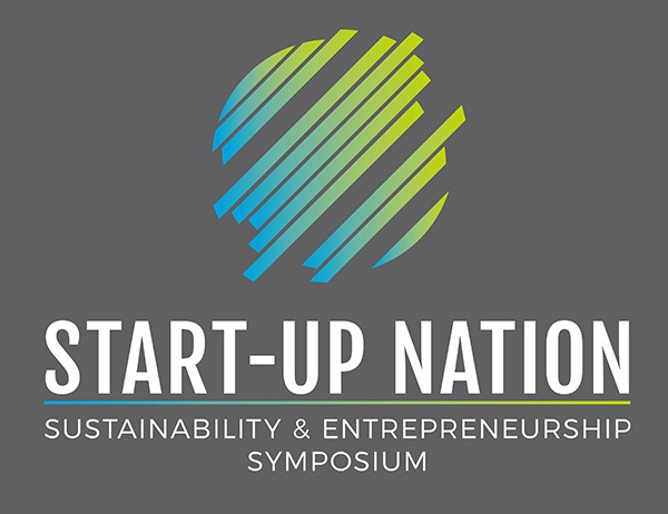 Illustration with Start-Up Nation event logo.