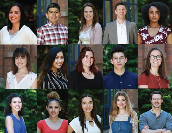 Collage of Gilman Scholars