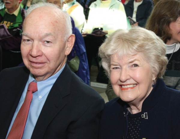 Leona BS '51 and Robert DeArmond, BBA '52