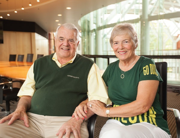 Gerry and Marilyn Cameron