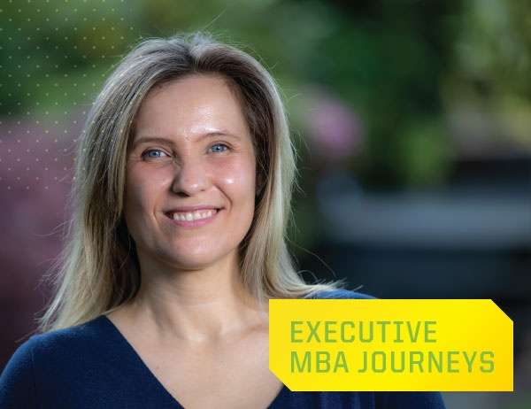Executive MBA Journeys: Maria Langbauer, MBA '20