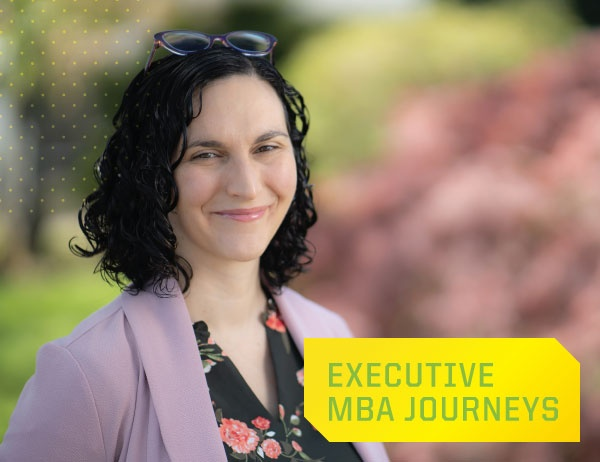 Executive MBA Journeys: Mele Sax-Barnett, MBA '20
