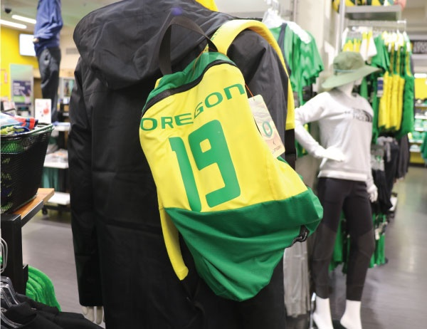 Looptworks UO gear in the Duck Store