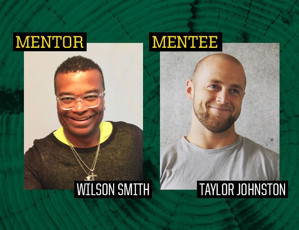 Mentor Wilson Smith and Mentee Taylor Johnston