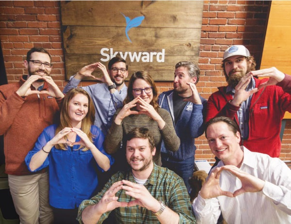 Skyward employees