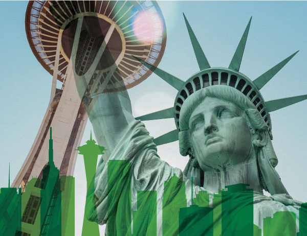 MBA Tours Take in Seattle, NYC