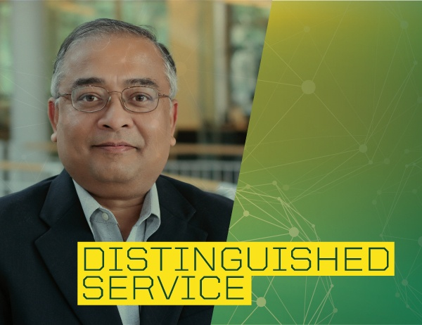 Roger Engemann Distinguished Research Scholar Nagesh Murthy