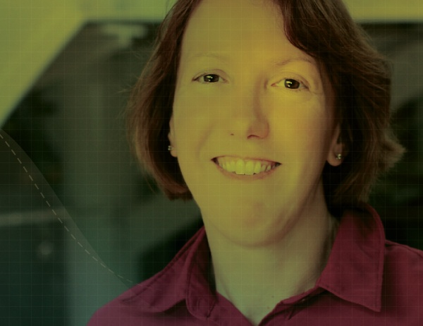 Illustration thumbnail image of Associate Professor Anne Parmigiani with a green and yellow color overlay