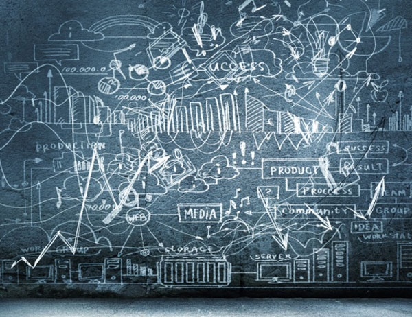 Stock photo of a chalkboard