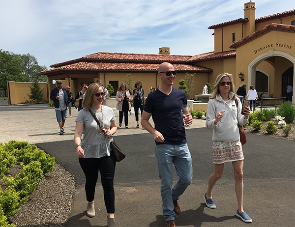 Executive MBA Alumni Tour Domaine Serene Winery