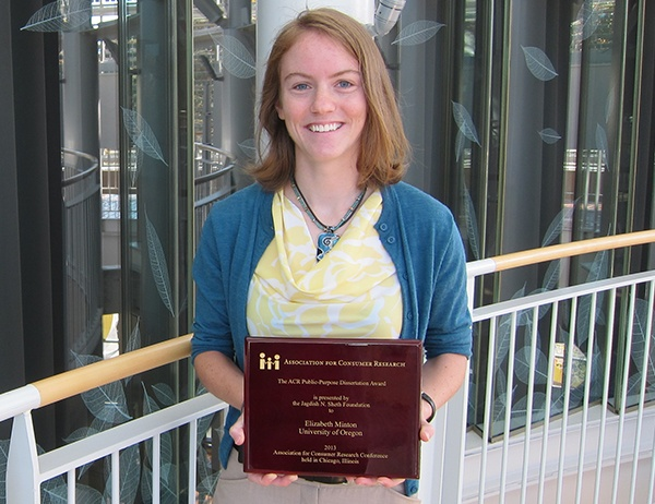 Marketing PhD Garners Elite Award