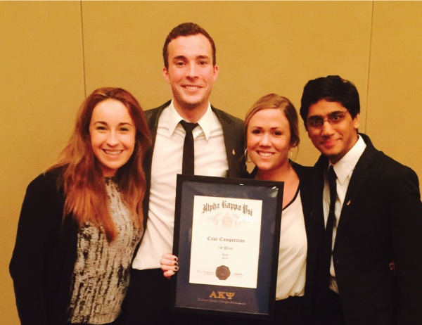 UO AKPsi Victory in Reno