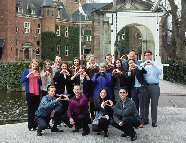 UO MAcc Students at Nyenrode in 2015
