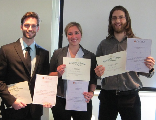 Third UO-Nyenrode Competition Boasts Three Winners