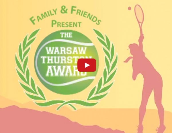 Warsaw Center Aces Tennis Event