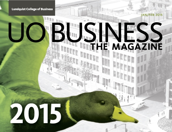 UO Business the Magazine, Jan-Feb 2015